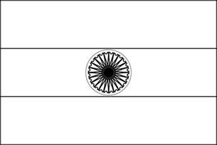 Outline Picture Of Indian National Flag by India Flag Clip At Clker Vector Clip