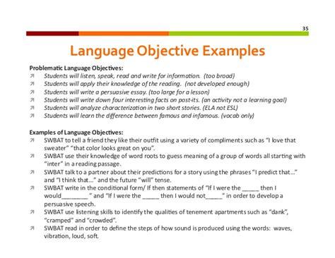 lesson plan template english language teaching sle lesson plans for english language learners