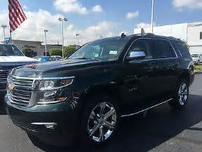 2016 chevrolet tahoe ltz 4x4 demo brand new warranty