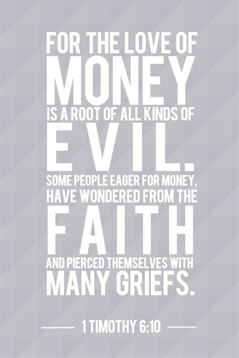Bible Quotes About The Of Money by 29 Best Money Is The Root Of All Evil Images On