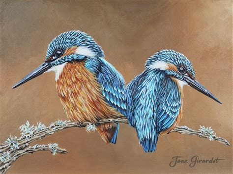 acrylic painting kingfisher 17 best images about kingfisher on watercolor