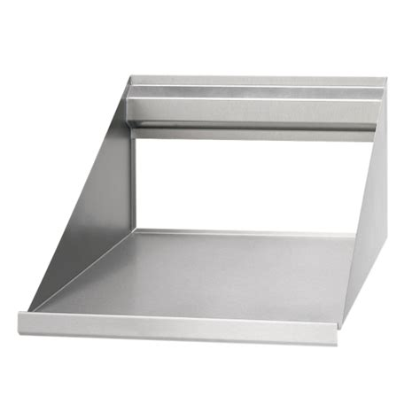 microwave wall shelves boos stainless steel microwave shelves bms2024