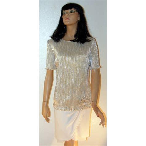 Elegancy Gold Dress gold cocktail dress patra large vintage 1980 s