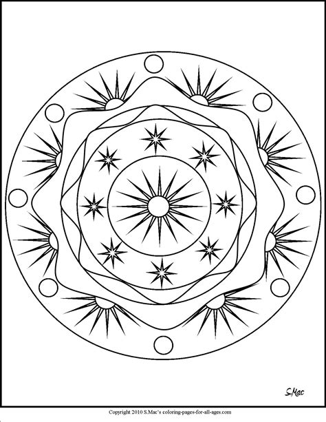 sun mandala coloring pages sun and moon coloring pages freecoloring4u