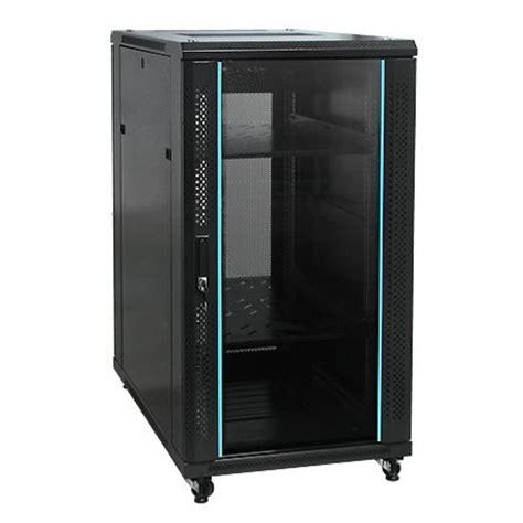 Network Cabinet by 18u 600x600 Freestanding Network Cabinet With Fan Pdu Toten