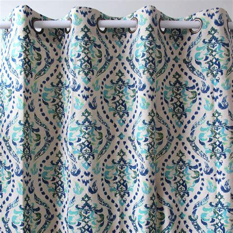 vintage pattern drapes vezo home print vintage flower pattern pattern green