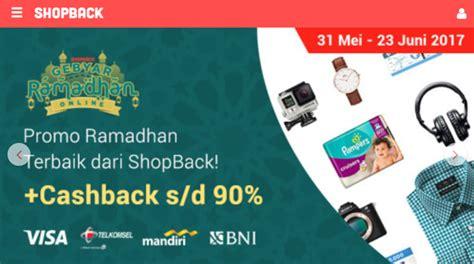 Promo Belanja Dapat Cashback belanja pakai voucer bisa dapat cashback di shopback