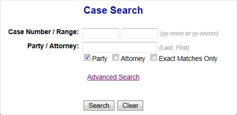 Lawsuit Search Search