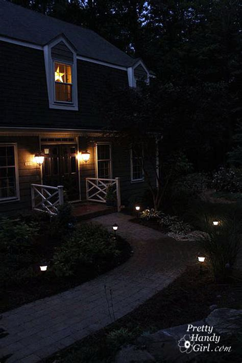 Installing Outdoor Lights How To Install Low Voltage Landscape Lights Pretty Handy