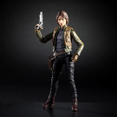 Jyn Erso Rogue One 1 Black Series Wars Moc Walmart 3 75 Inch Se Official Wars Rogue One Jyn Erson Black Series
