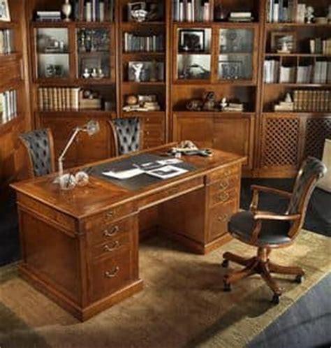 luxus schreibtische luxus klassische b 252 rom 246 bel b 252 cherregal und schreibtisch