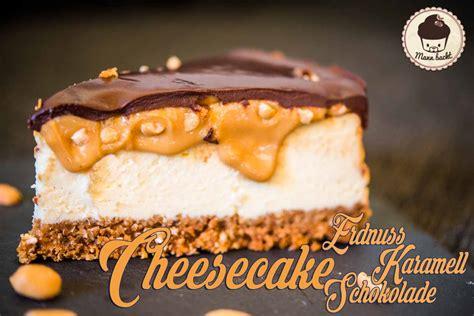 Hochzeitstorte Cheesecake by Erdnuss Karamell Chocolate Cheesecake Mann Backt