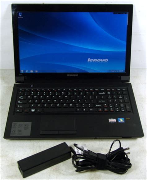 Laptop Lenovo Amd E450 lenovo ideapad b575 1450a7u laptop amd e450 2cpu 1 6ghz 4gb 320gb hdd ebay