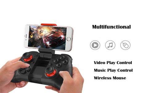 Gamer Masuk Vr Box Bluetooth Smartphone Joystick Gamepad Controller mocute 050 bluetooth gamepad wireless joystick vr box