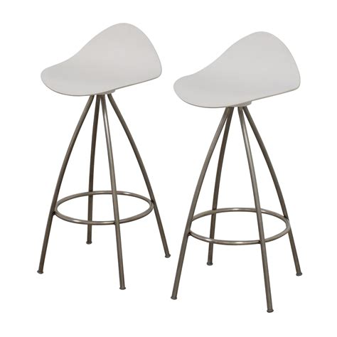 bar stools design within reach 85 off design within reach dwr onda counter stool chairs