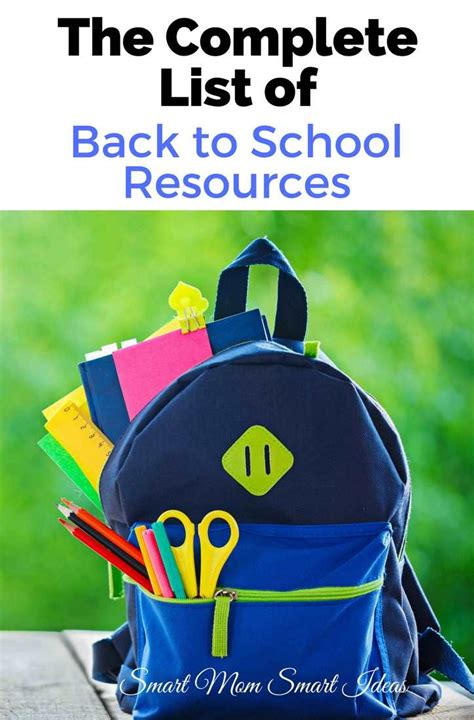 7 Ways To Prepare For Back To School by How To Prepare For Back To School Smart Smart Ideas