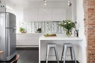 Modern Apartment Kitchens - dise 241 os cocinas peque 241 as modernas cincuenta modelos