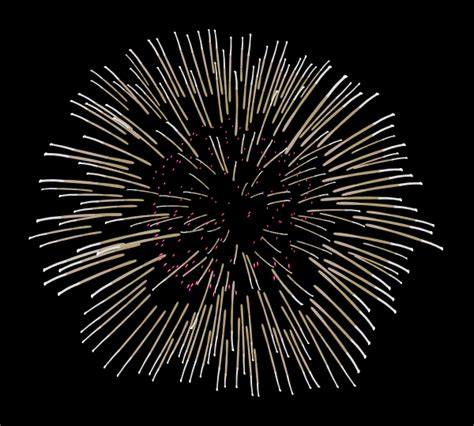 Fireworks Clip Art At Clker Com Vector Clip Art Online Fireworks Animation For Powerpoint