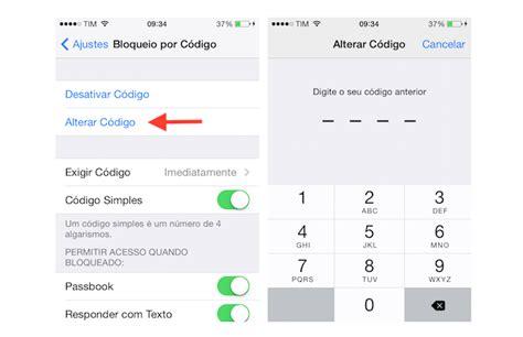 confira como desativar ou mudar  senha de bloqueio  iphone dicas  tutoriais techtudo
