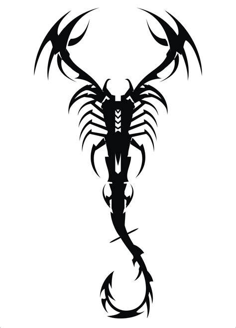 tattoo scorpion tribal majestic tribal scorpion tattoos that will make heads turn