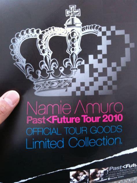 namie amuro past future namie amuro past future tour 2010 曲目 與首場周邊圖 偉士牌的安室奈美惠