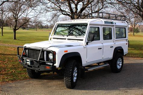 land rover 110 1993 land rover defender 110 for sale 1898581 hemmings