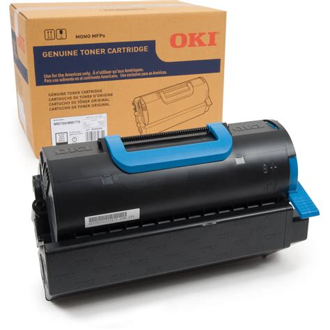 Toner Oki Oki High Capacity Toner Cartridge For Mb770 Series 45460509