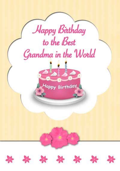 printable birthday cards nanny birthday card free online grandma birthday cards free