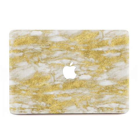 Laptop Aufkleber Gold by Gold Marble Macbook Skin Aufkleber