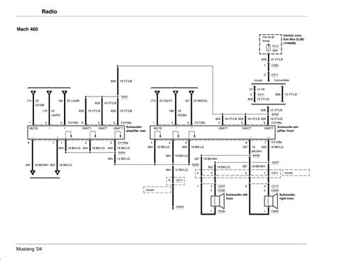 94 mach 460 wiring diagram 94 get free image about