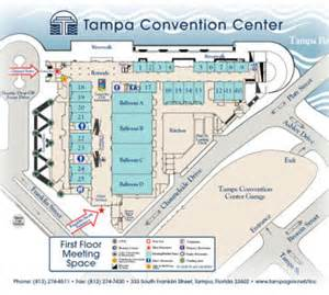 Tampa Convention Center Floor Plan tampa convention center visit tampa bay
