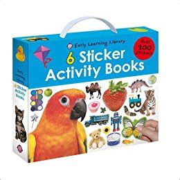 Sticker Activity Be A Learner With Friends 1 early learning library sticker activity early learning roger priddy 9781843328292