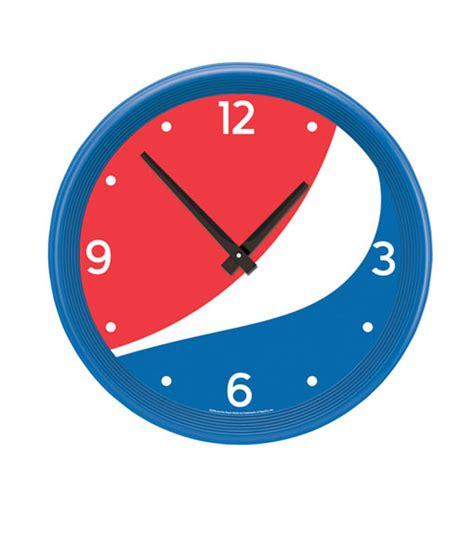 coolest clock pc1019 pepsi cool globe clock pepsi point of sale