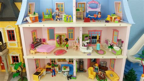 schlafzimmer playmobil playmobil puppenhaus 5303 komplett eingerichtet seratus 1