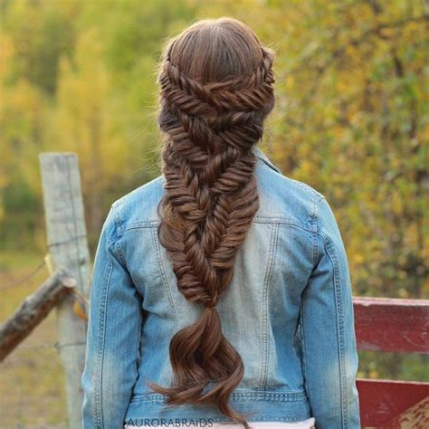 history of fishtail braid hair 40 awesome jazzed up fishtail braid hairstyles
