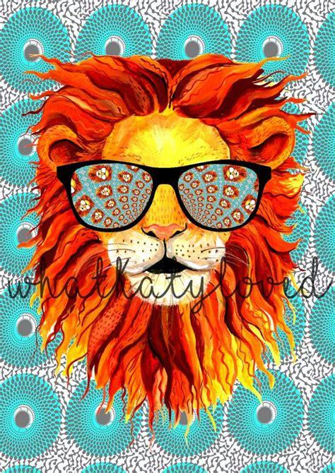 lion zentangle recruitment school spirit pinterest lion art print download illustration a4 printable by