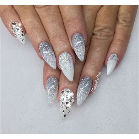 Graue Nägel by Glitter Ombr 233 Nails Nail Gallery