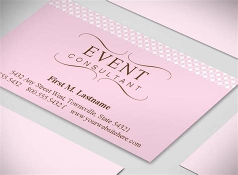 planning business cards templates wedding planner business cards event coordinator