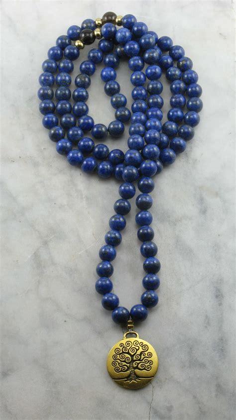 mala prayer guidance mala 108 lapis lazuli mala buddhist