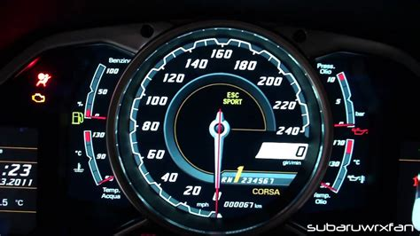 lamborghini murcielago speedometer exclusive aventador interior features gauges engine