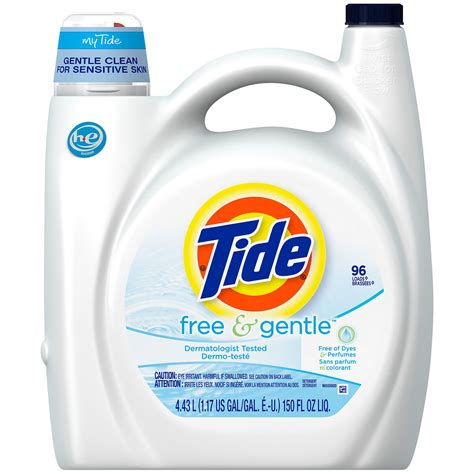 sears laundry detergent tide free gentle liquid laundry detergent 150 fl oz 96