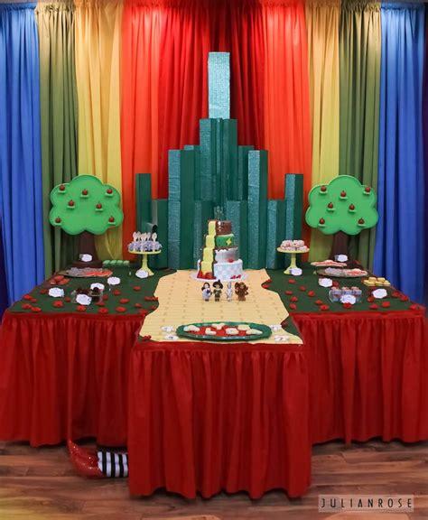 Wizard Of Oz Decorations by Kara S Ideas Wizard Of Oz Birthday Kara S