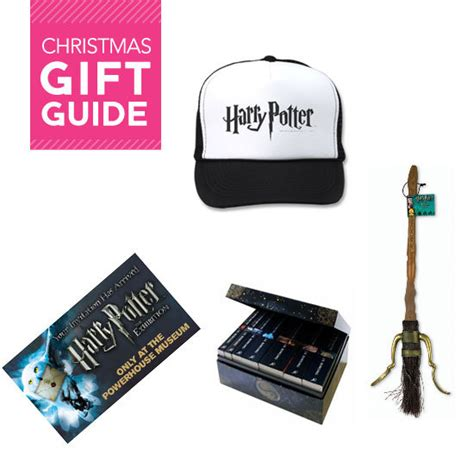 christmas gift and present ideas for harry potter fans