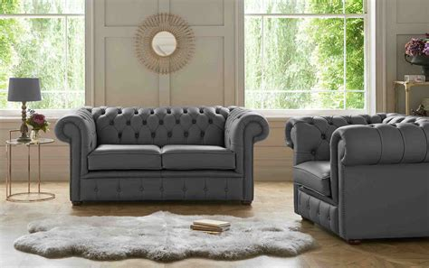 Gray Chesterfield Sofa by Chesterfield Sofa Grey Leather Chesterfield Sofas
