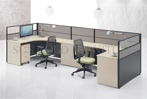 Office Cubicle Desk Top Quality High Wall Office Workstation Call Center Wooden Cubicles Designs Sz Ws397 Buy