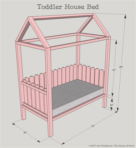 diy house plans diy toddler house bed