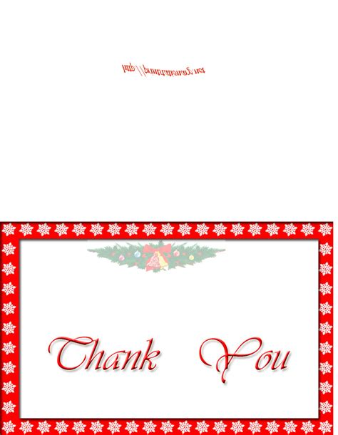 printable christmas present thank you cards free printable holiday thank you cards free christmas