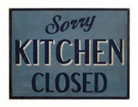 closed kitchen kitchen closed got no milk