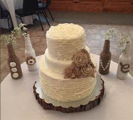 wedding cake rustic rustic wedding cake cakecentral