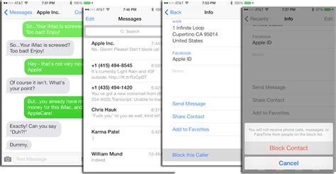 how to block an email on iphone how to block phone calls facetime calls and messages in ios 7 mactrast apple news